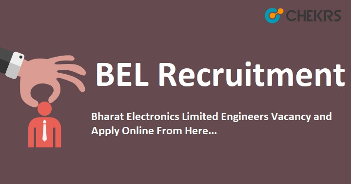 BEL engineer Vacancy
