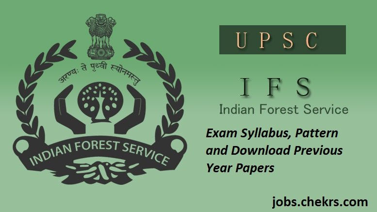 Indian Forest Service Syllabus