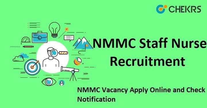 NMMC Staff Nurse Recruitment
