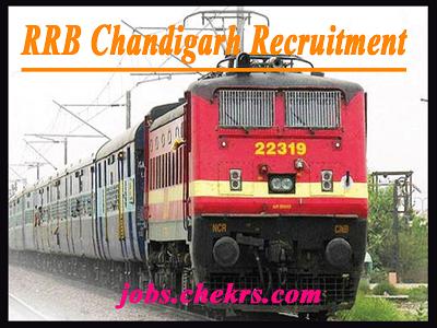 RRB Chandigarh Recruitment 2021