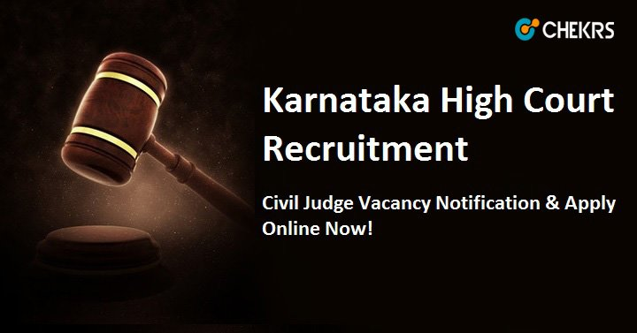 Karnataka High Court Civil Judge Notification