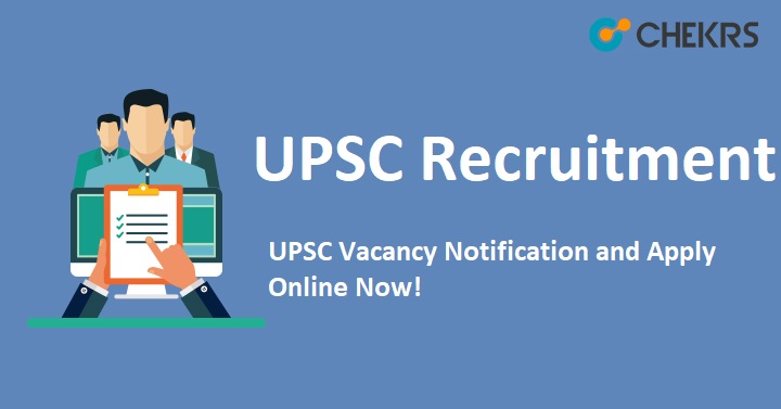 UPSC Drug Inspector Recruitment