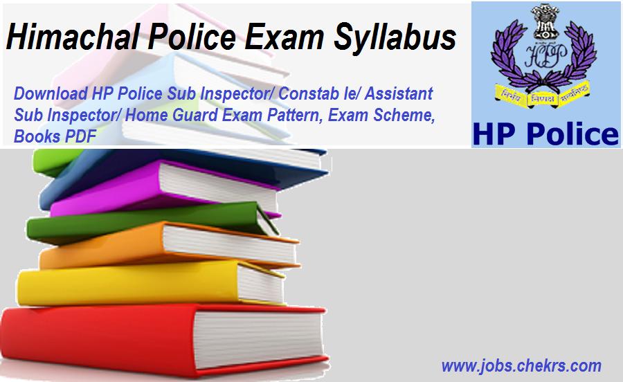 HP Police Exam Syllabus
