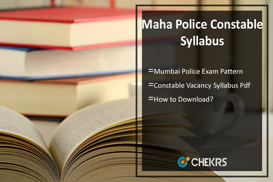 Maharashtra Police Constable Syllabus- Written Exam Pattern