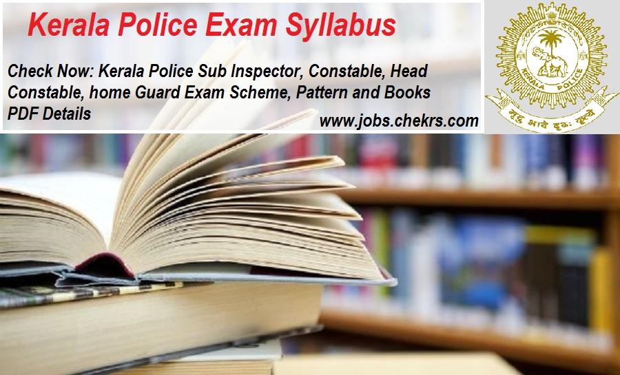 Kerala Police Syllabus