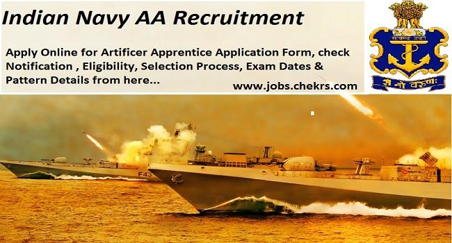Indian Navy AA Recruitment