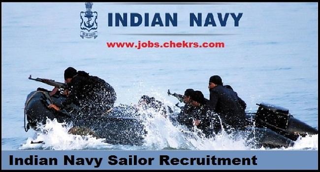 Indian Navy Sailor Recruitment 2020