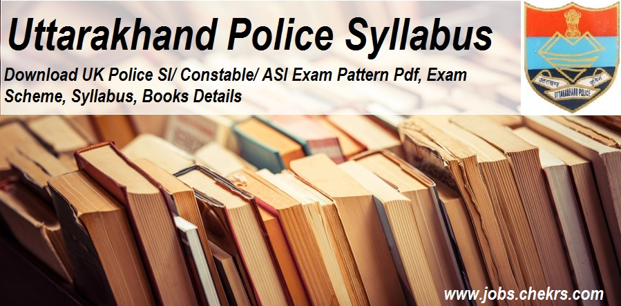 Uttarakhand Police Syllabus
