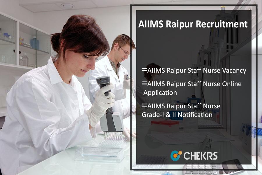 AIIMS Raipur Recruitment 2021