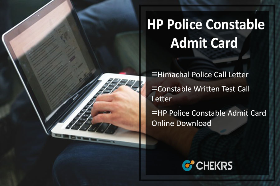 HP Police Constable Admit Card- Himachal Police Call Letter Download