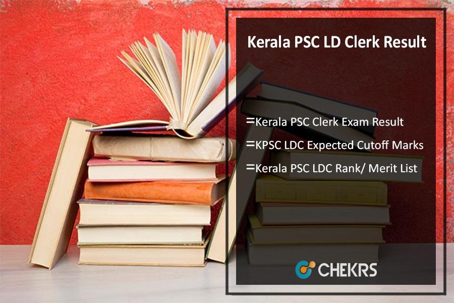 Kerala PSC LDC Result 2021