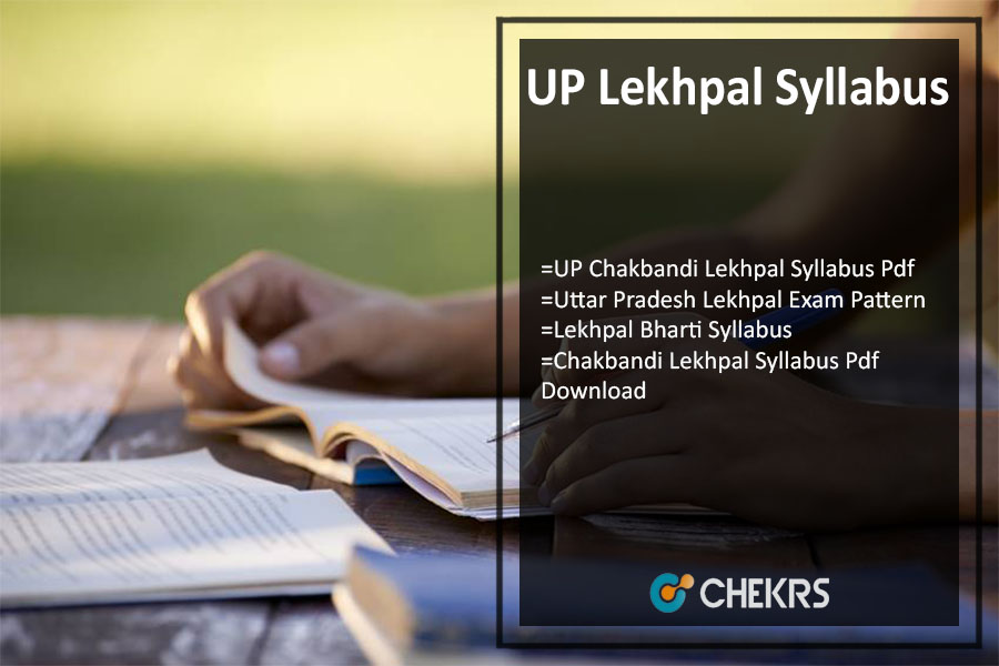 UP Lekhpal Syllabus Hindi 2021 Pdf Download- Exam Pattern, Dates