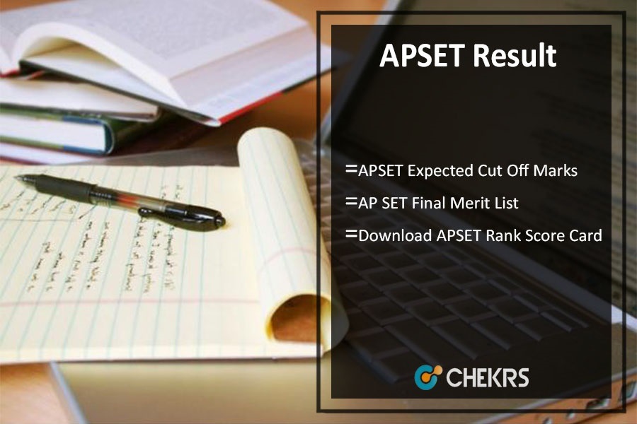 AP SET Result- Cut Off Marks, Merit List, Rank Card @apset.net.in