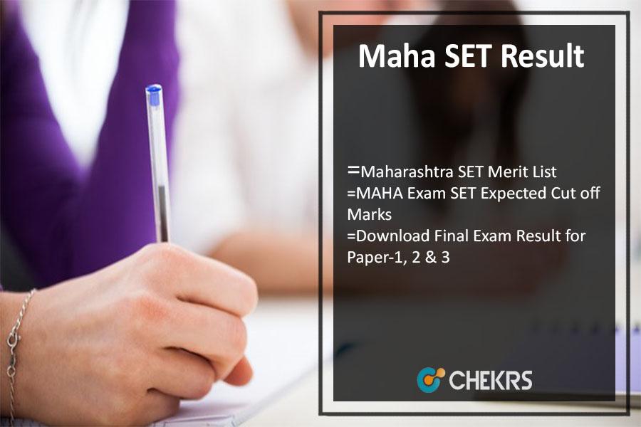 Maha SET Result 2021- Maharashtra SET Merit List, Cut Off Releasing @unipune.ac.in