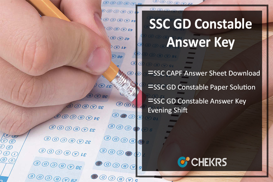 SSC GD Constable Answer Key Pdf, 15-22 July CAPF Paper Solution