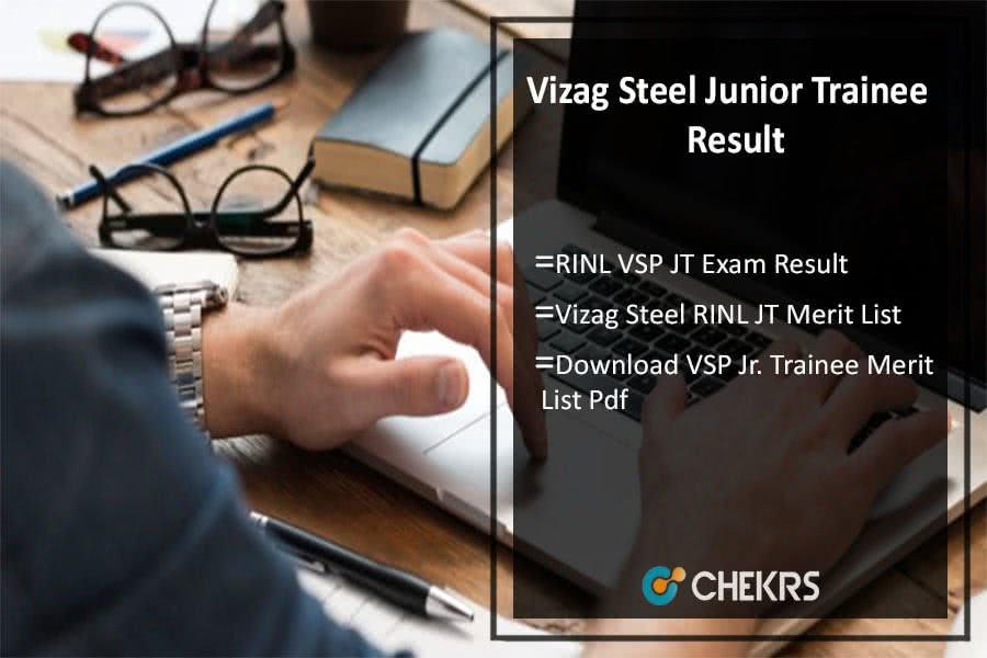 Vizag Steel Plant Junior Trainee Result