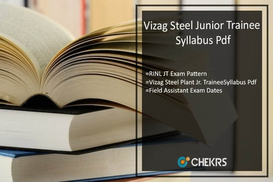 Vizag Steel Plant Junior Trainee Exam Pattern