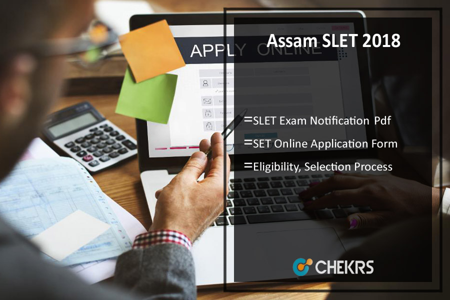 Assam SLET Notification 2020