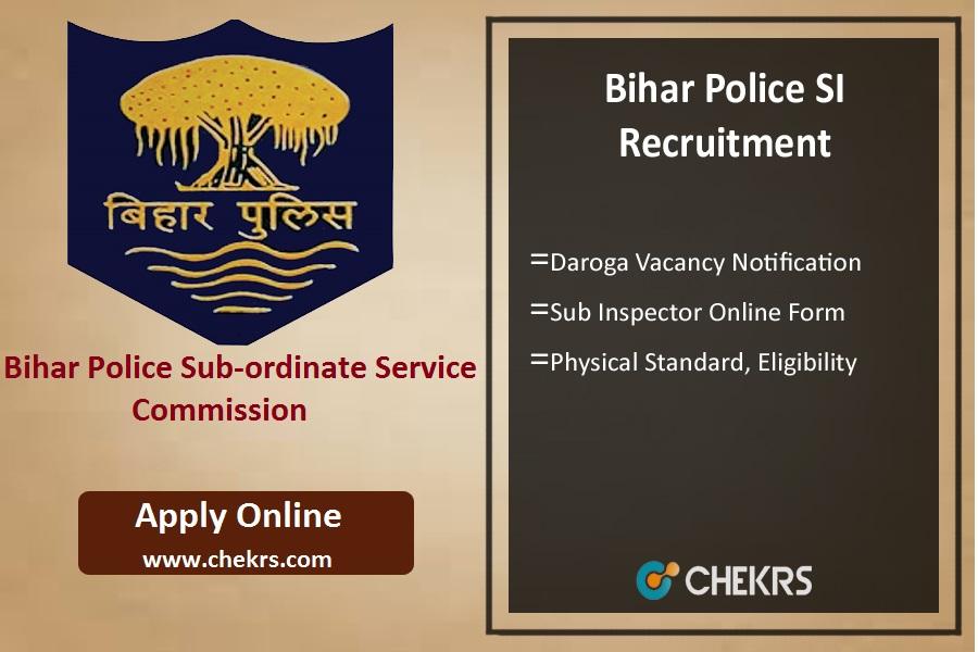 Bihar Police SI Recruitment: 1717 Daroga Vacancy Notification