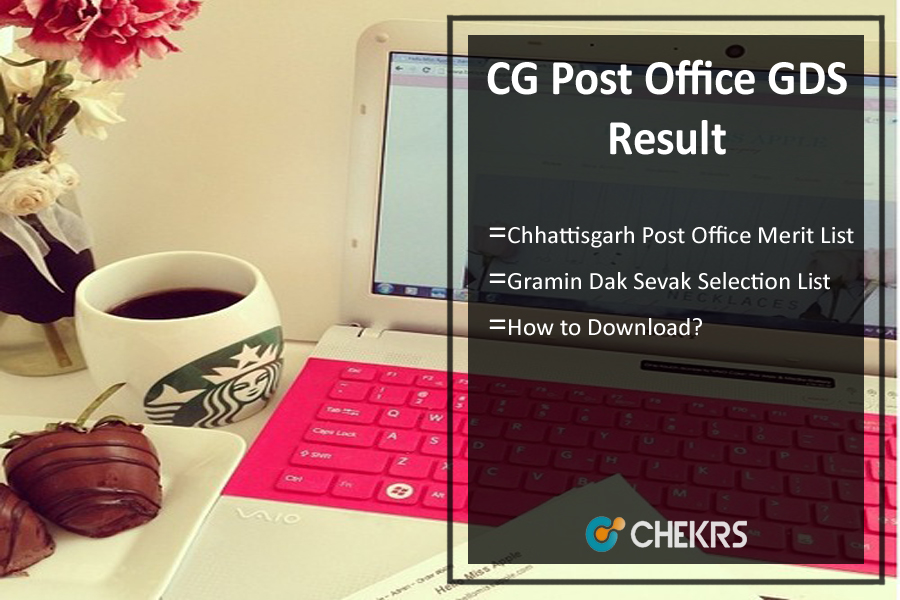 CG Post Office GDS Result- Gramin Dak Sevak Merit/ Selection List