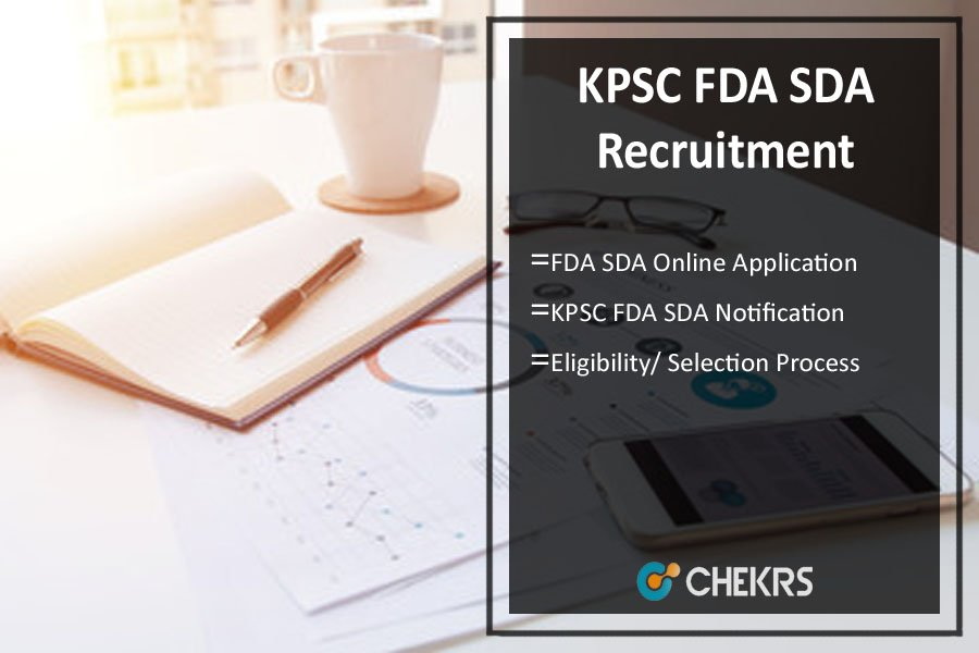 KPSC FDA SDA Recruitment- 1058 Online Application @kpsc.kar.nic.in