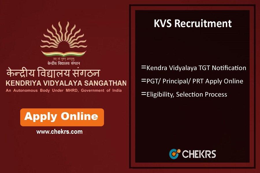 KVS Recruitment 2022