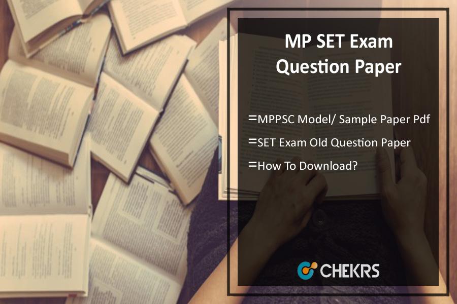MP SET Exam Previous Question Paper