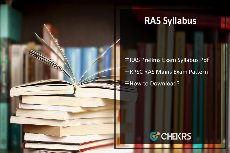 RAS Syllabus 2017: Download Hindi Pdf, Pre & Mains Exam Pattern