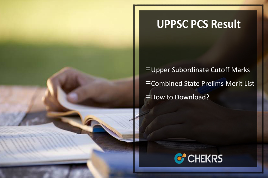 UPPSC PCS Result 2021