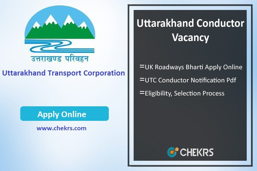Uttarakhand Conductor Vacancy