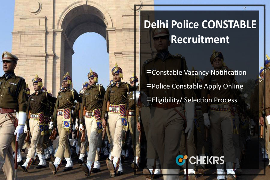 Delhi Police CONSTABLE Recruitment- Apply Online, Notification