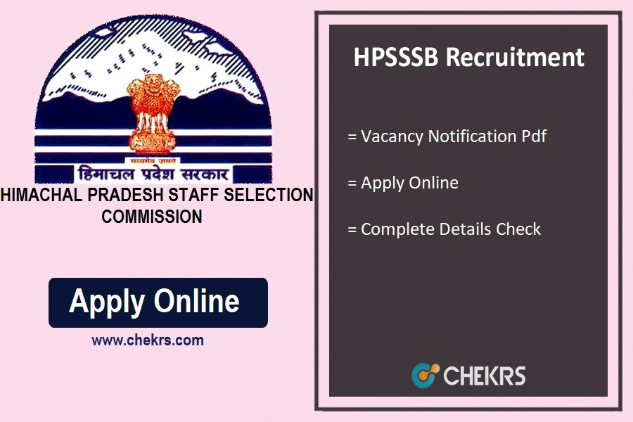 HPSSSB Recruitment
