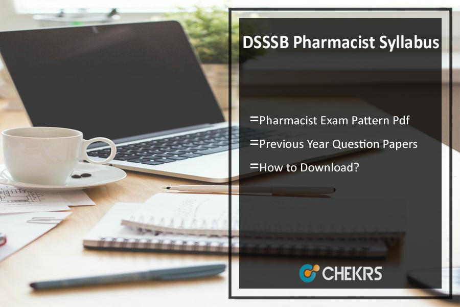 DSSSB Pharmacist Syllabus 2020