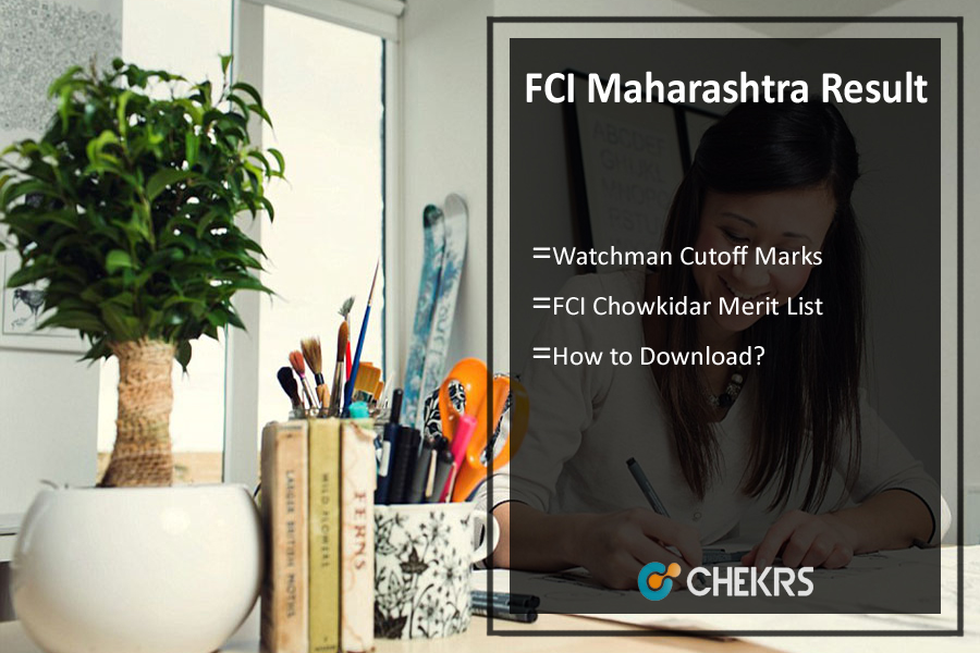 FCI Maharashtra Result- Watchman Cutoff Marks, Merit List