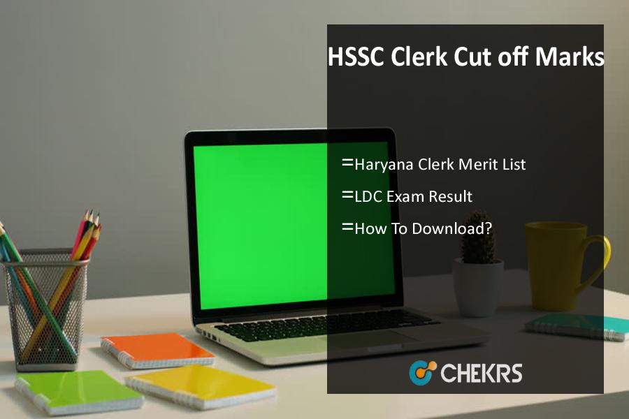 HSSC Clerk Cut off Marks 2020