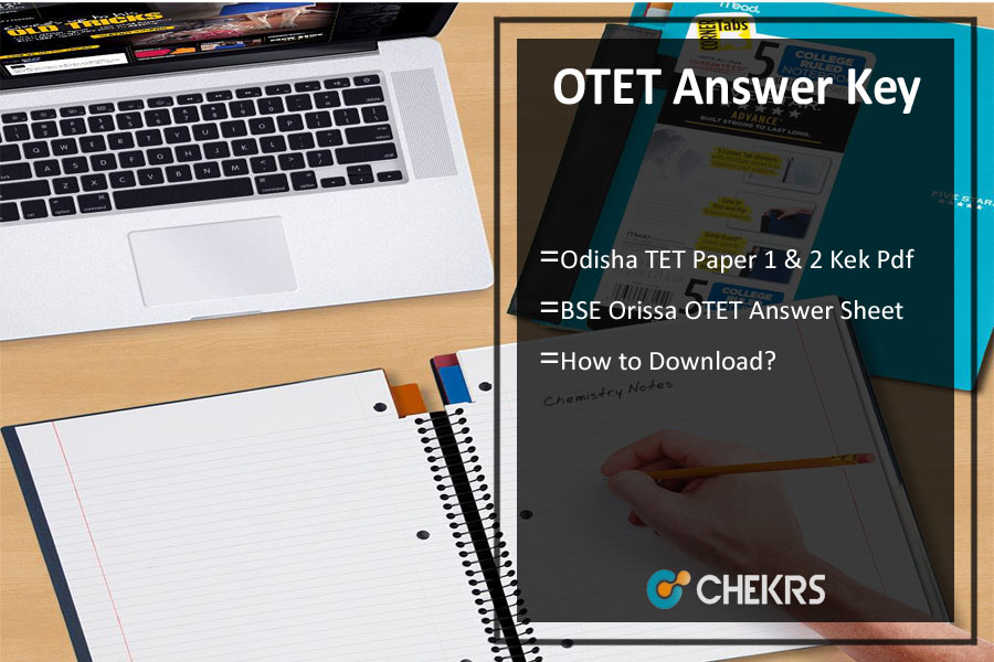 OTET Answer Key- BSE Odisha TET Paper 1 & 2 Answer Sheet Pdf