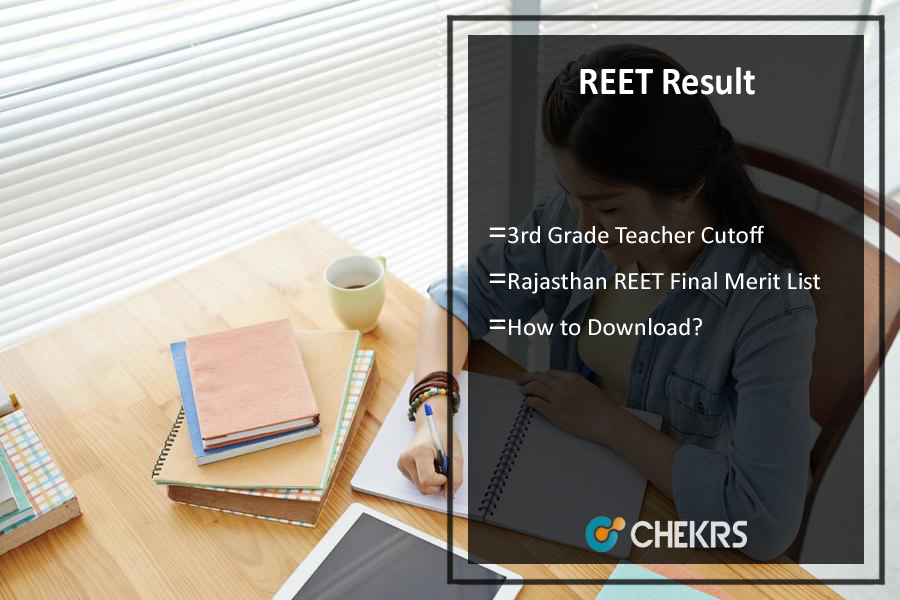 REET Result- Rajasthan 3rd Grade Teacher Cutoff, Merit List