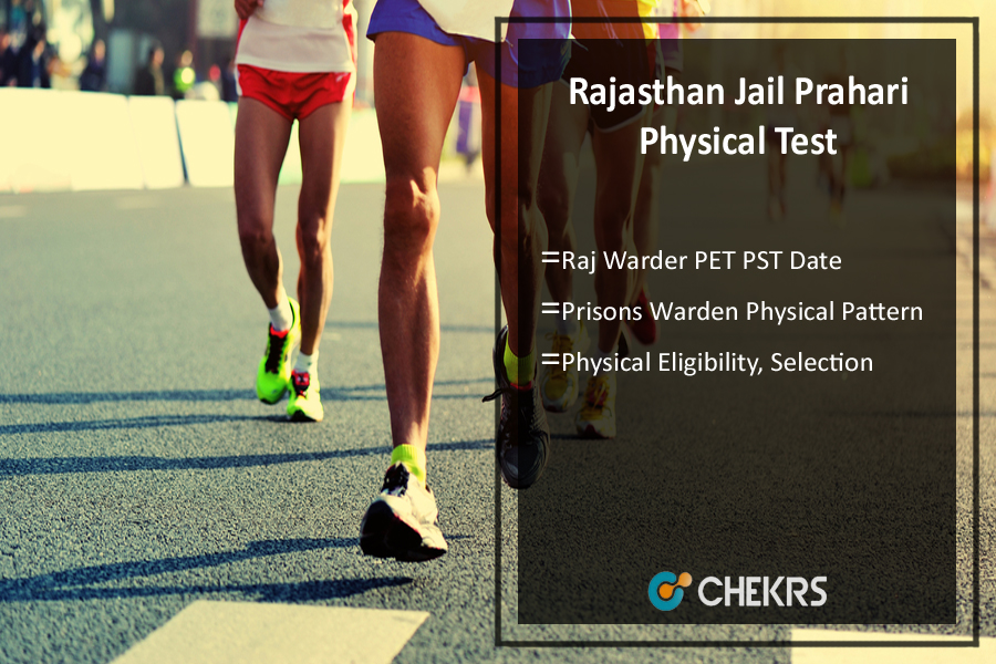 Rajasthan Jail Prahari Physical Test- Raj Warder PET PST Date
