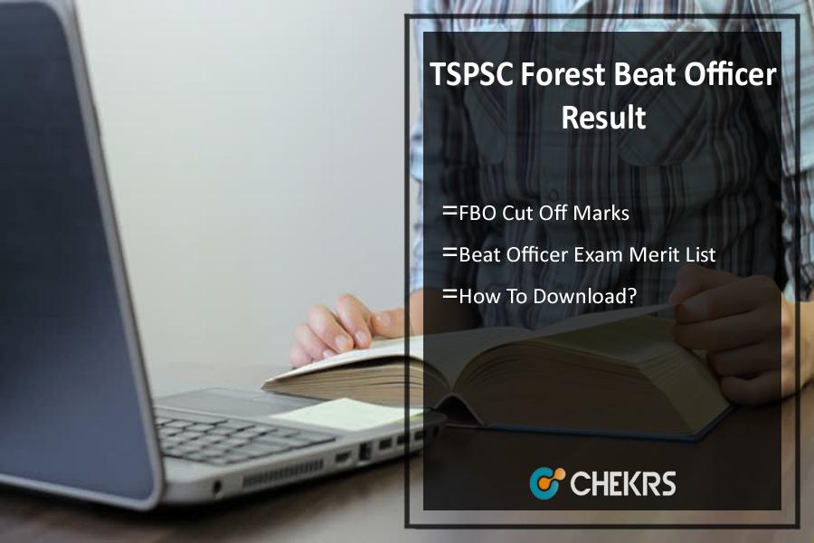 TSPSC Forest Beat Officer Result- FBO Cut Off Marks, Meritlist