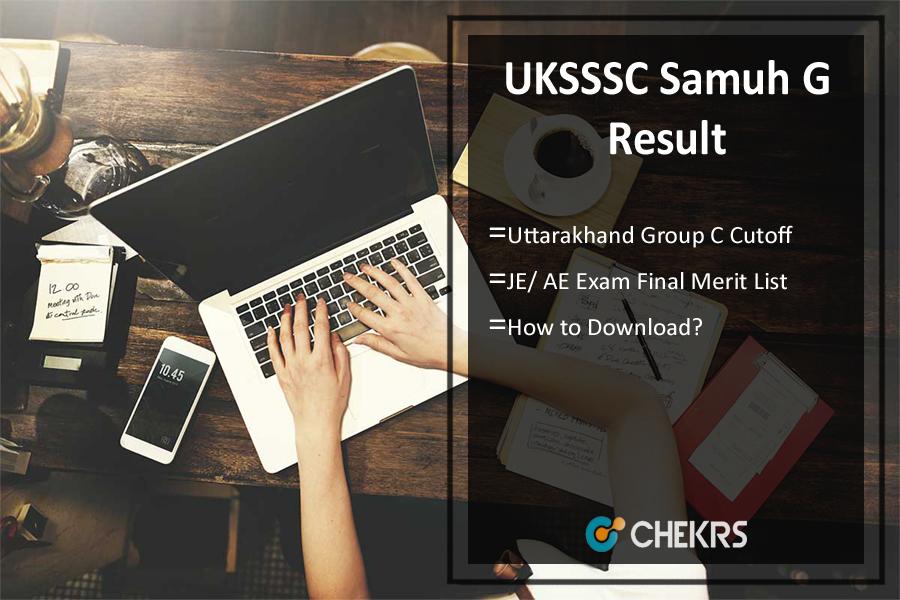 UKSSSC Samuh G Result 2021