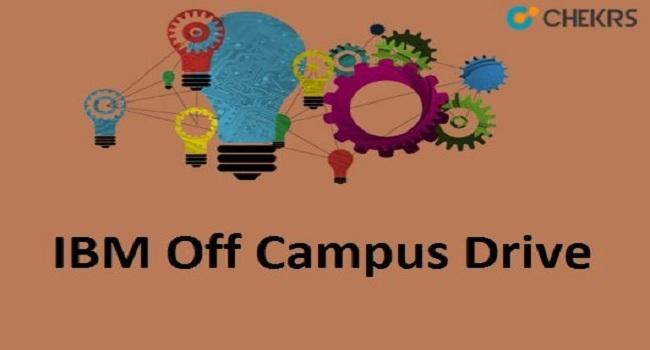 IBM Off Campus Drive Recruitment