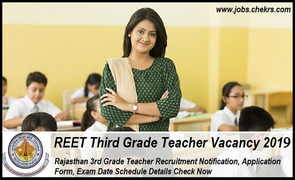 REET 3rd Grade Teacher Vacancy