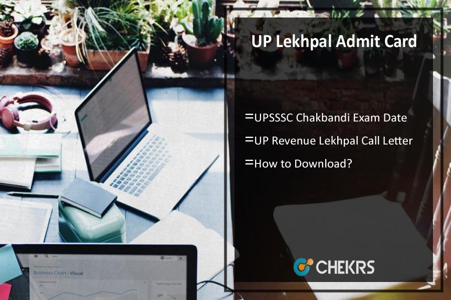 UPSSSCChakbandi Lekhpal Admit Card