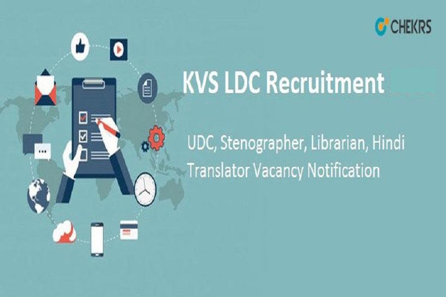 kvs ldc recruitment 2022