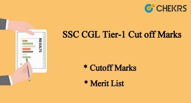 SSC CGL Tier-1 Cut off Marks