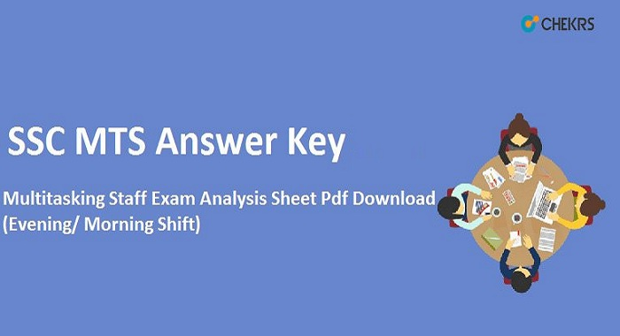 SSC MTS Answer Key 2021