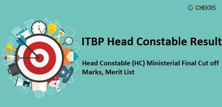 ITBP Head Constable Result 2019