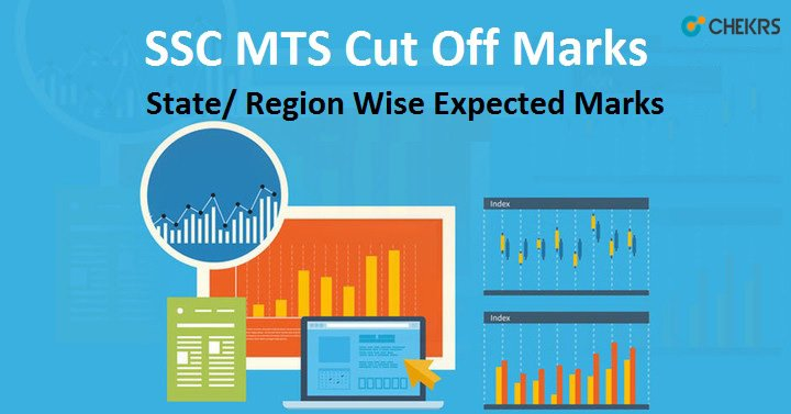 SSC MTS Cutoff Marks State Wise