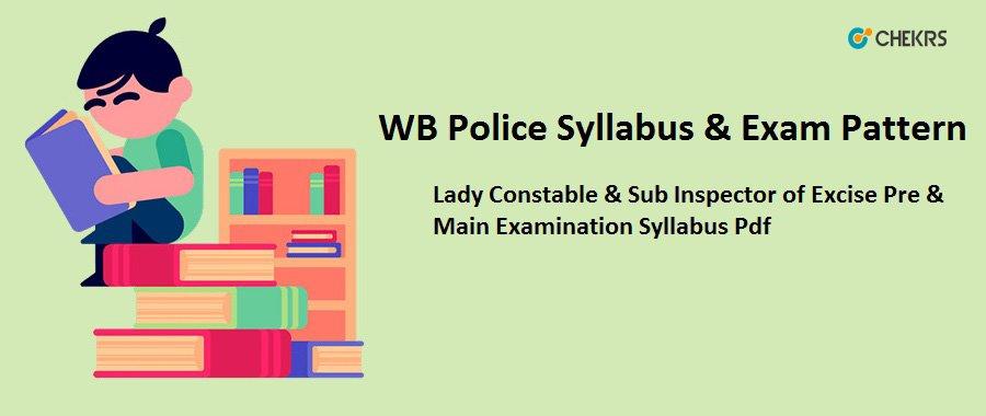 West Bengal Police Exam syllabus