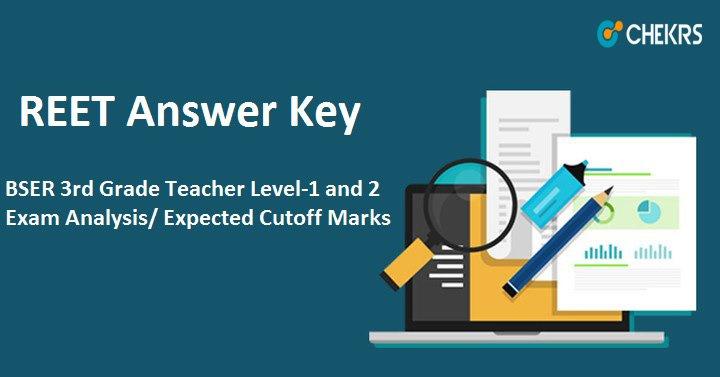 BSER REET Answer Key 2021